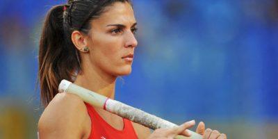 Le confirmaron que tenía la marca mínima para competir en salto con garrocha Foto:Getty Images