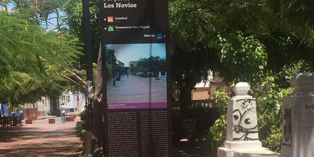 Detectan graves errores históricos en la señalización turística de Santa Marta