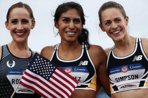 Competirá en el equipo estadounidense en los mil 500 metros Foto:Getty Images
