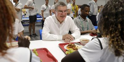 60 mil comidas se servirán en la Vila Olímpica Foto:Getty Images