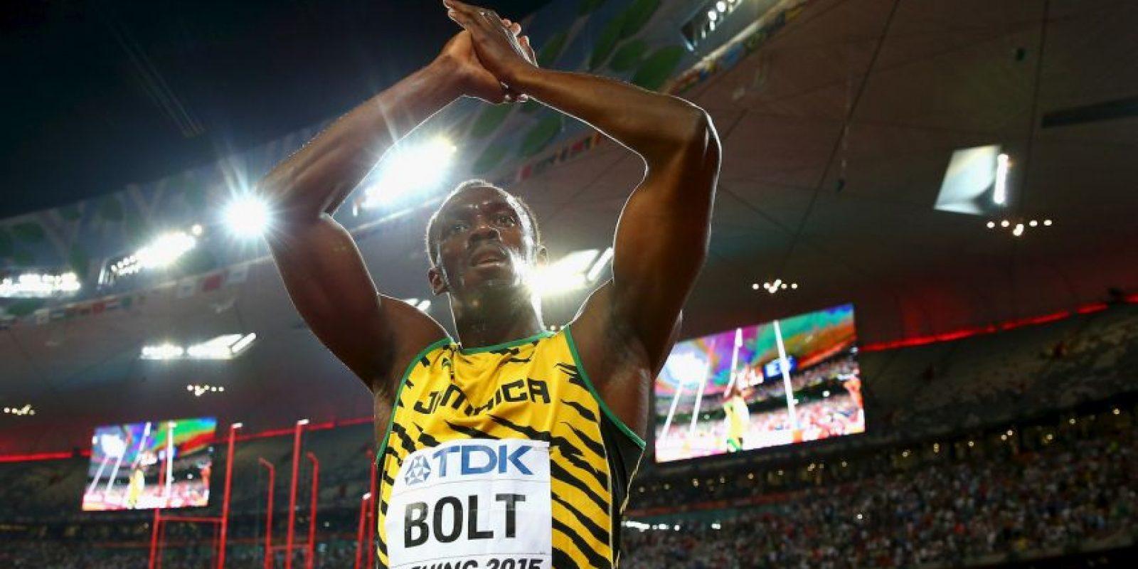 Usain Bolt (Atletismo): Es la gran figura a ver en los Juegos Olímpicos de Río 2016 y todos están esperando esos nueve segundos y fracción que duran los 100 metros para tenerlo en acción. Acumula seis oros olímpicos tras ganar los 100, 200 y 4×100 de Beijing 2008 y Londres 2012. Foto:Getty Images