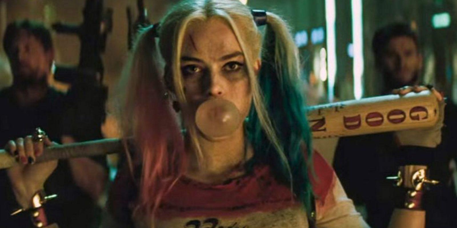 Pero quien se roba el show es Margot Robbie como Harley Quinn. Foto:vía Warner Brothers