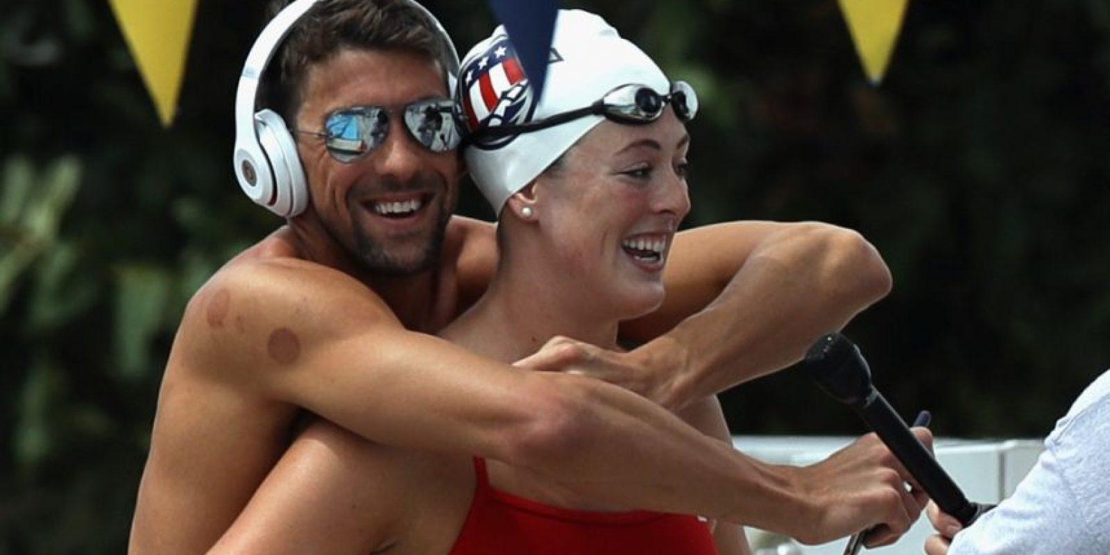 Phelps es el máximo ganador de medallas de los Juegos Olímpicos Foto:Getty Images