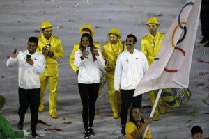 Los atletas independientes Foto:AP
