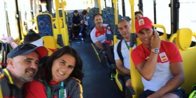 Así disfrutan los atletas el primer día de los Juegos Olímpicos: Rafa Nadal Foto:Instagram