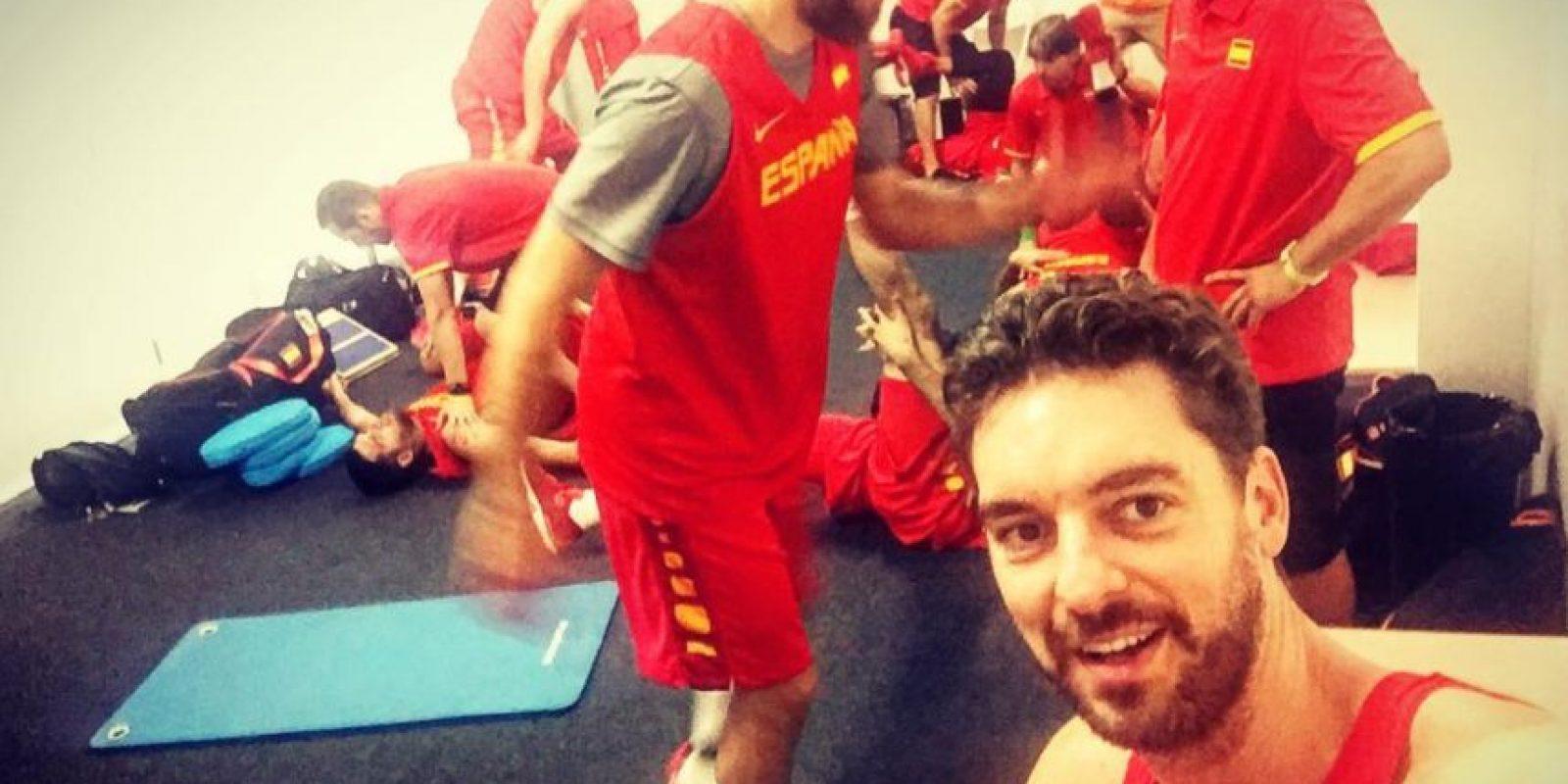 El basquetbolista español Pau Gasol Foto:Instagram