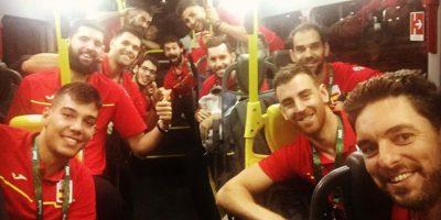 La Selección de baloncesto de España Foto:Instagram
