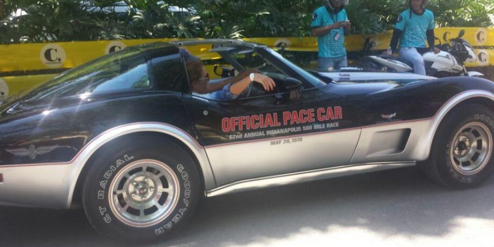 Chevrolet Corvette 1978 – edición 500 millas de Indianápolis Foto:Ariadne Agámez – Publimetro