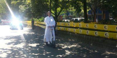 También hubo quien se divirtió en medio del desfile Foto:Ariadne Agámez – Publimetro