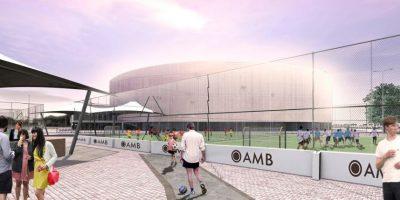 Así quedaría renovado el Coliseo El Campín. Foto:Cortesía Alcaldía Mayor de Bogotá