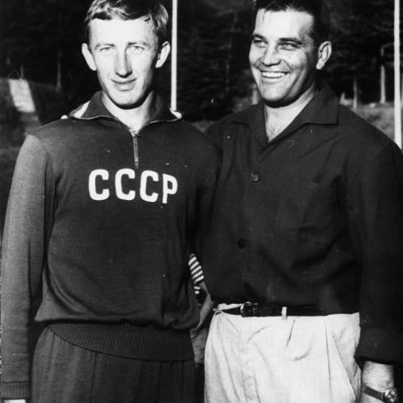 Londres 1948: Gunnar Nordahl (Suecia) y John Hansen (Dinamarca) – 7 goles, 4 partidos Foto:Getty Images