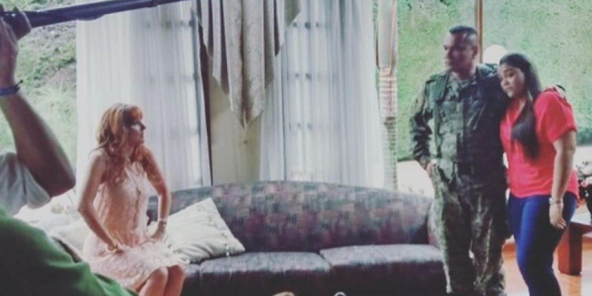 La actriz Martha Restrepo fue golpeada por una televidente de