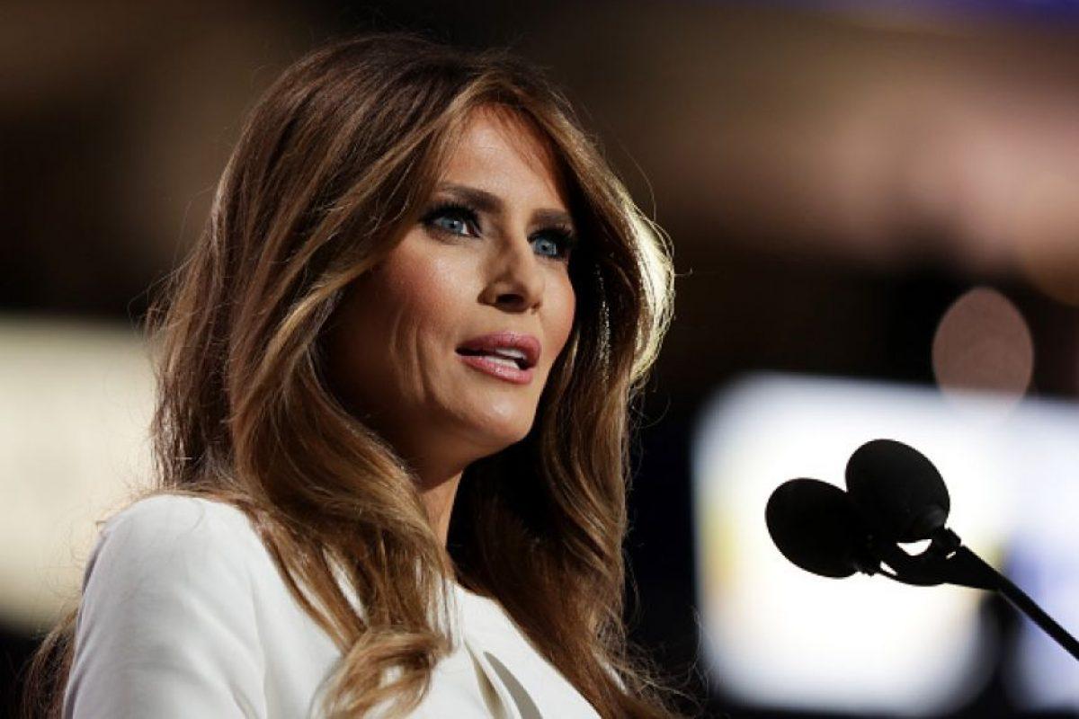Su esposa plagió una parte de un discurso de Michelle Obama Foto:Getty Images