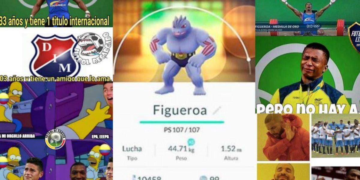 Memes por la medalla de oro de Oscar Figueroa en Río 2016