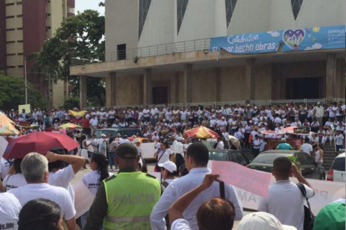 Plaza de la Paz, Barranquilla. Foto:Cortesía.