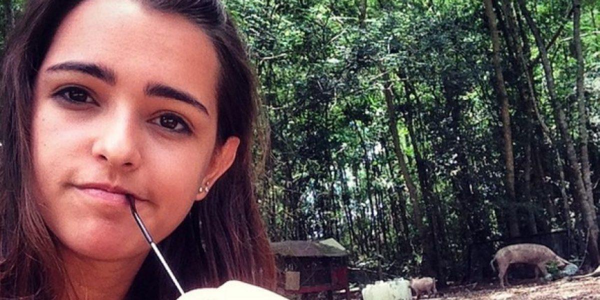 Lucía Vives, sin nada de ropa en revista colombiana