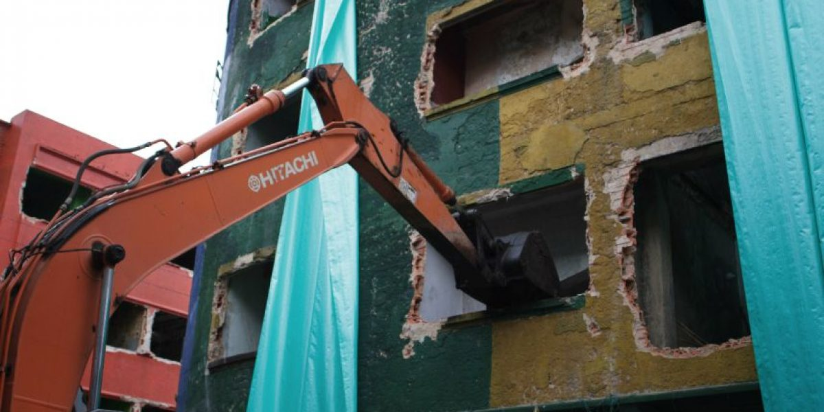Demolición del Bronx: el inicio del fin de la olla más grande de Bogotá