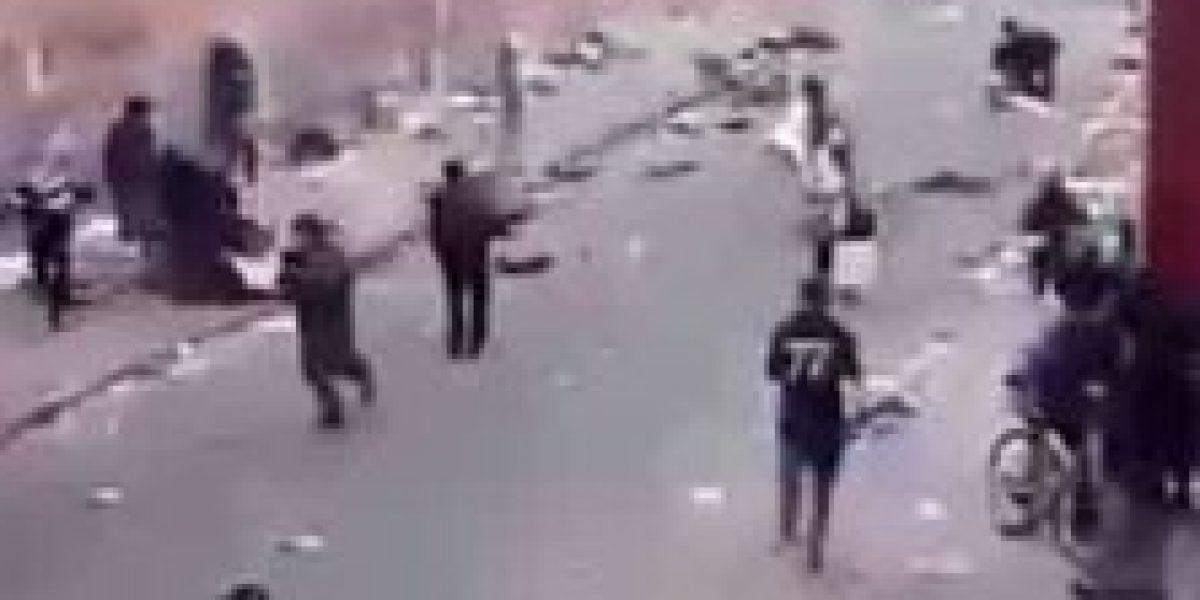 Habitantes de calle robaron con cuchillo a un hombre que se movilizaba en bicicleta