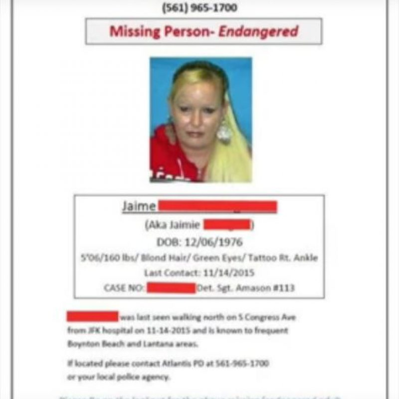 La mujer tenía un reporte por desaparición. Foto:YouTube/PrankNation