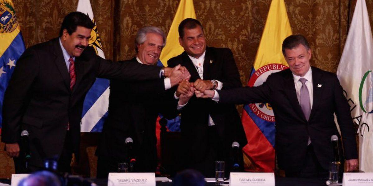 Hoy se reunirán Santos y Maduro para programar la apertura de la frontera