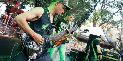 Festival de Bandas locales, durante 4 días, 70 agrupaciones, en dos escenarios simultáneos. Foto:Cortesía Secretaría de Cultura.