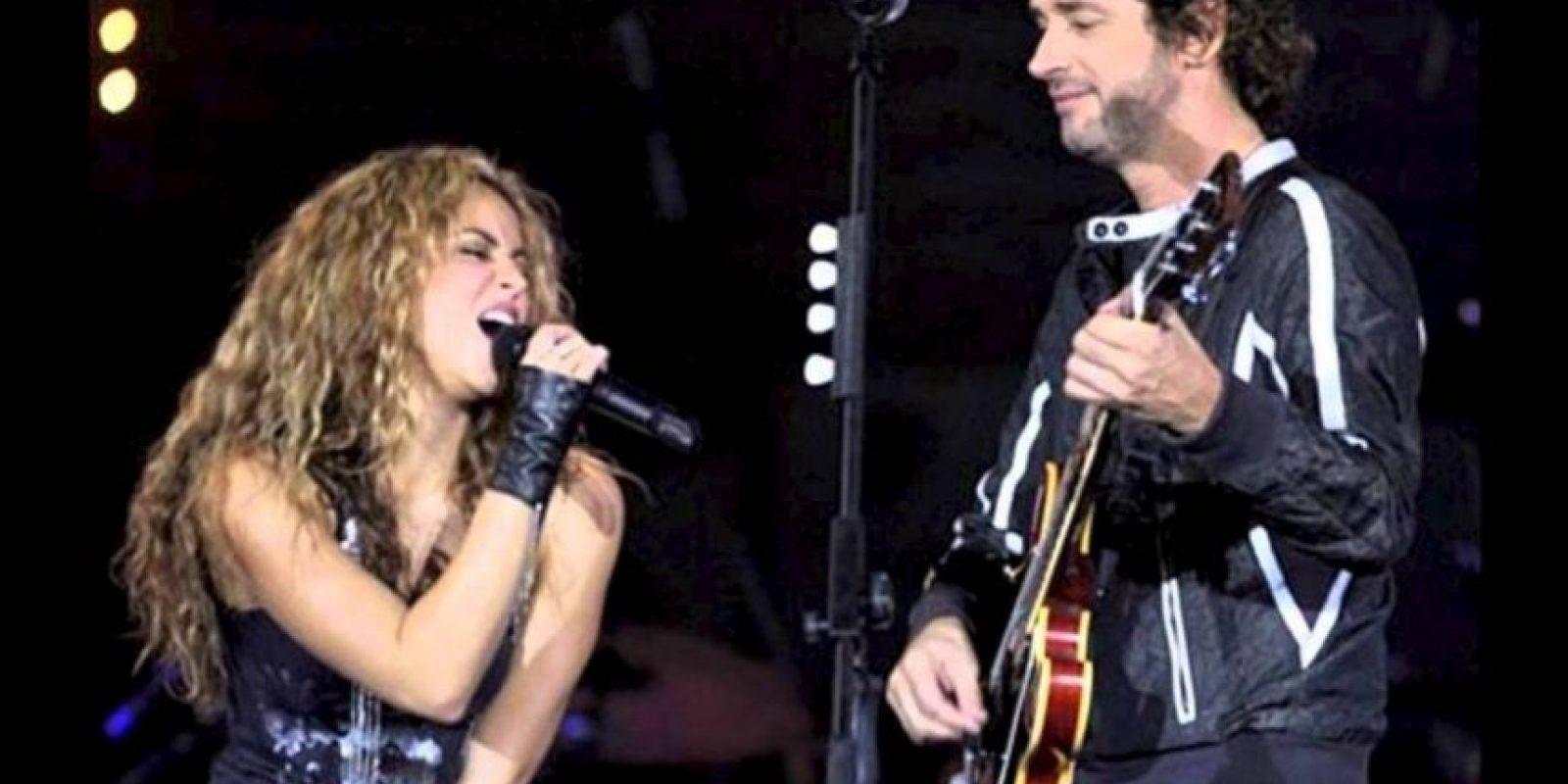 Y cantó con ella en 2007, para la Fundación Alas Foto:AFP