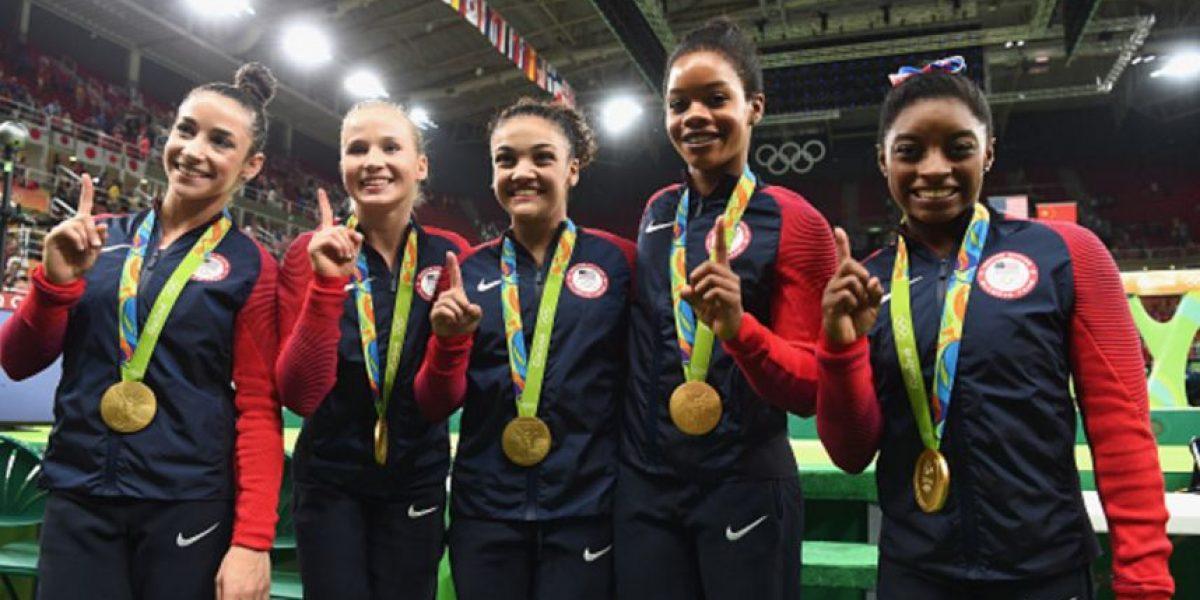 Fotos: 2 exitosas gimnastas que pesan más que Alexa Moreno