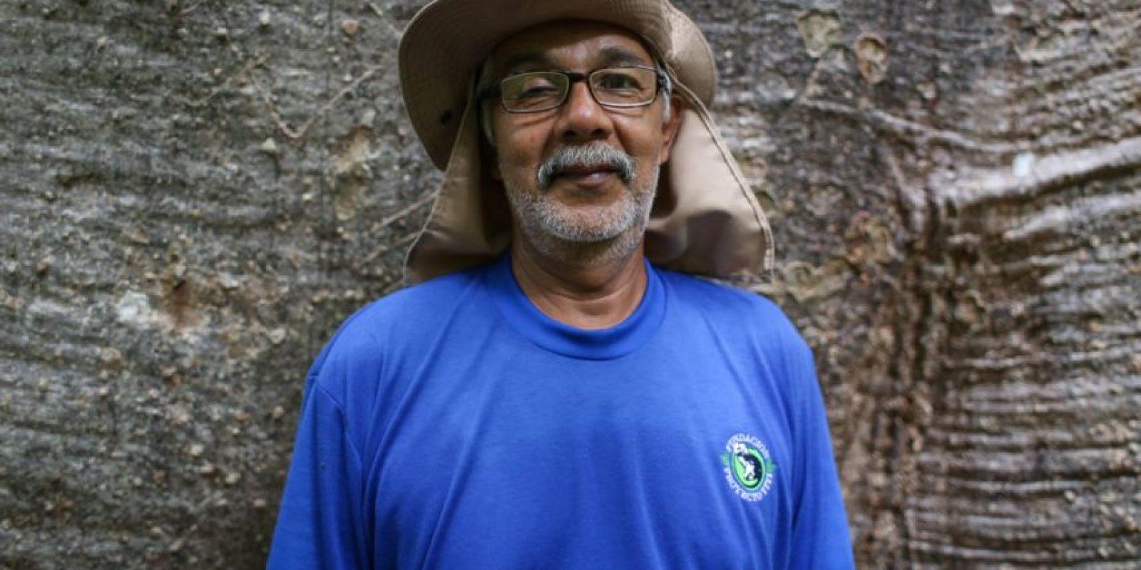 Luis Hernando Soto, biólogo Foto:César Nigrinis Name