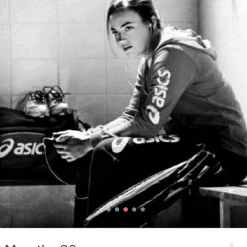 Maartje Paumen, del equipo holandés de hockey sobre césped Foto:Instagram