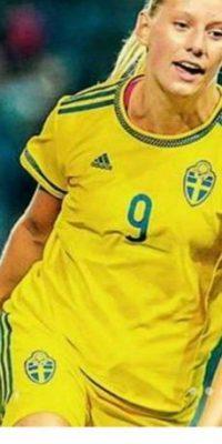 La futbolista sueca Stina Blackstenius Foto:Instagram