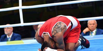El boxeador ecuatoriano Carlos Quipo Foto:Getty Images
