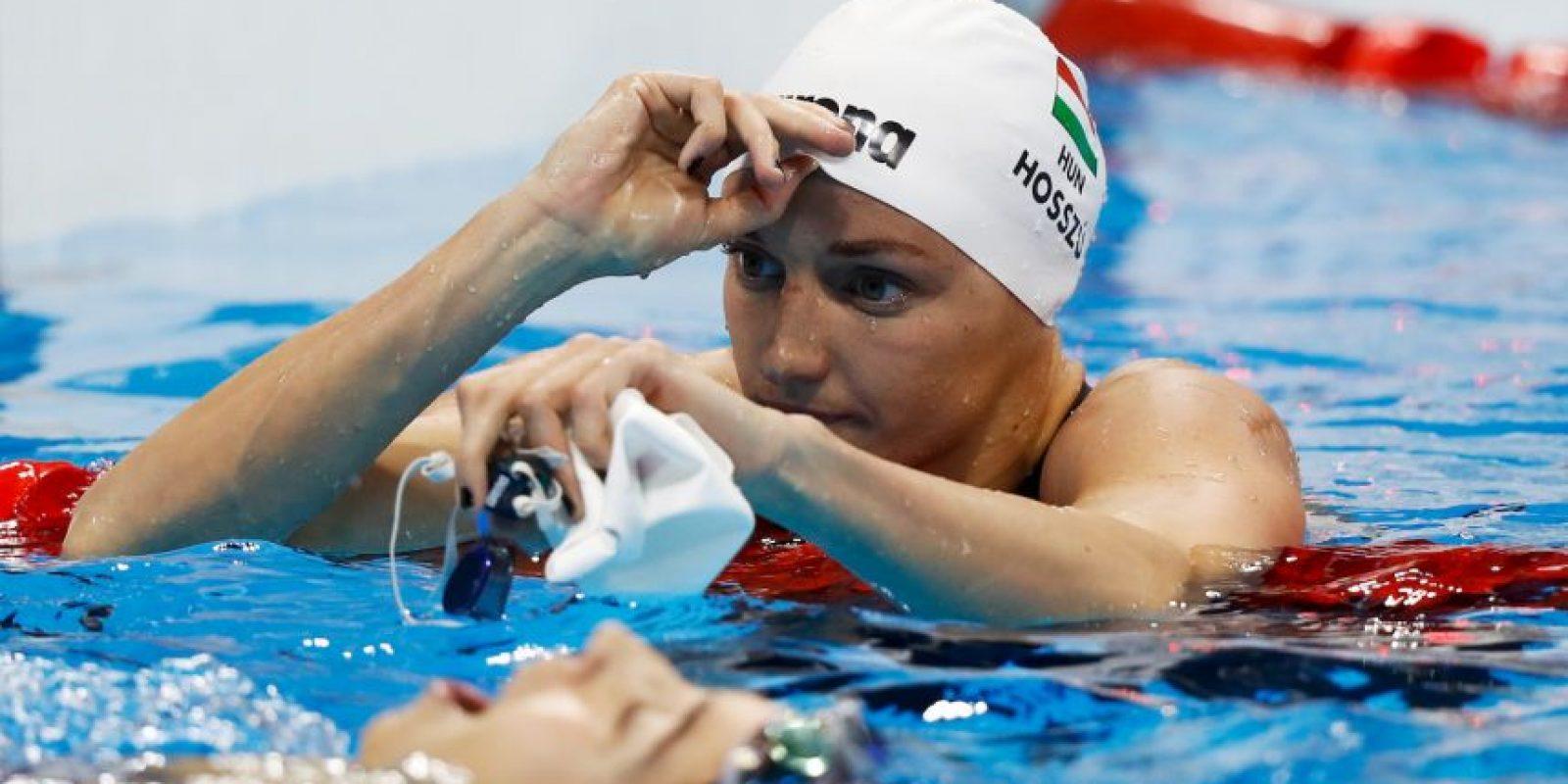 Katinka Hosszu. Terminó los 400 metros combinado en 4:26.6 Foto:Getty Images