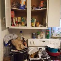 Describieron que había olor a orina de gato, basura y productos en descomposición Foto:Franklin Ohio Police Department