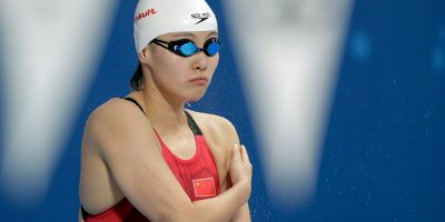 Fu Yuanhui confesó que compitió un día después de que tuviera su periodo Foto:Getty Images