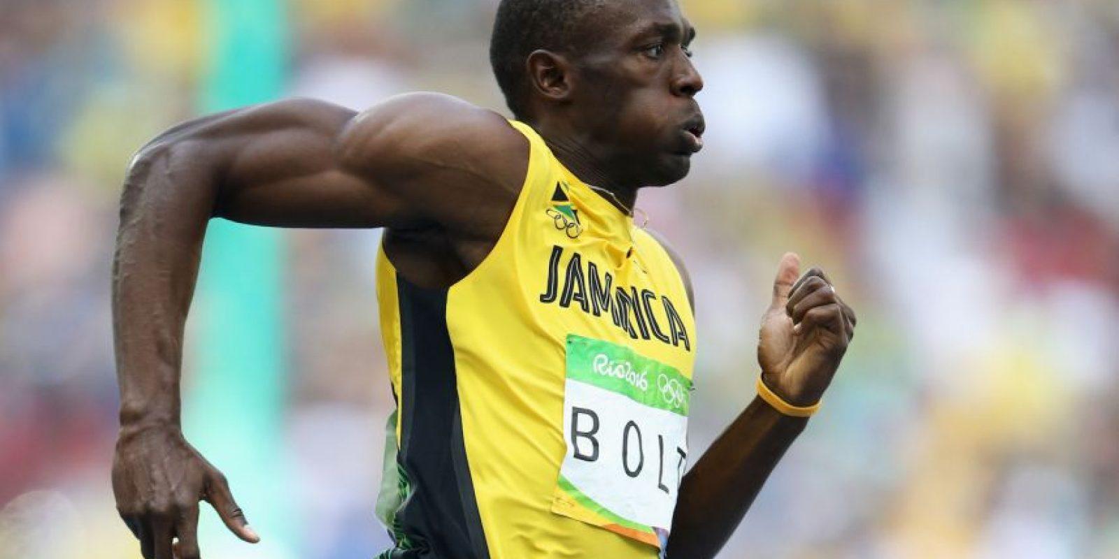 Usain Bolt ganó por terceros Juegos Olímpicos consecutivos los 100 metros planos Foto:Getty Images