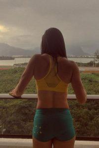 Las mejores imágenes de las redes sociales de Michelle Jenneke Foto:Instagram
