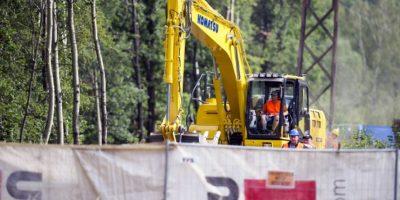 Ahora comienzan los trabajos de excavación Foto:AFP