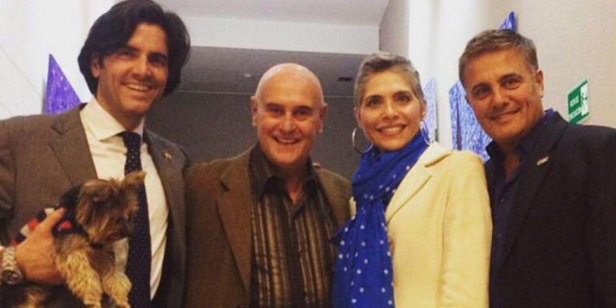 Lorena Meritano y Ernesto Calzadilla criticados en redes sociales