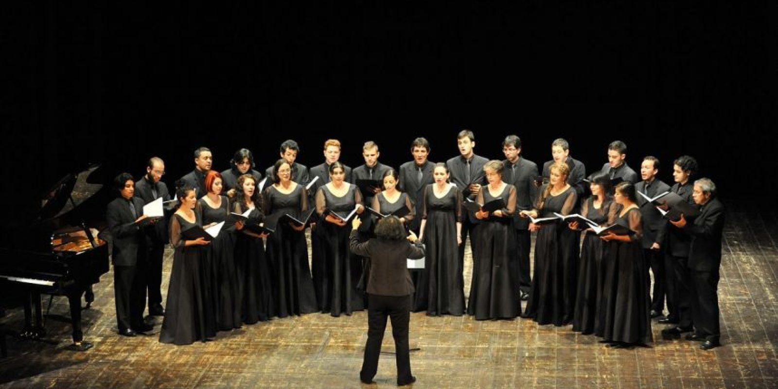 Un espectáculo denominado 'De lo divino a lo humano' a cargo del coro Tonos Humanos en el MAMM. Foto:Cortesía MAMM