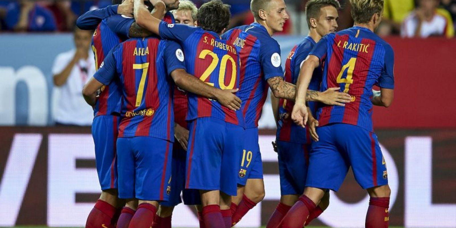 Los culés llevan una ventaja de dos goles Foto:Getty Images