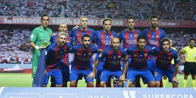Barcelona y Sevilla van por la Supercopa de España Foto:Getty Images