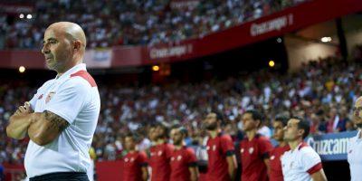 Jorge Sampaoli busca su primer trofeo con el Sevilla Foto:Getty Images