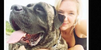 Lauren Fern supo que su perrita Gizelle tenía un cáncer terminal. Foto:Instagram