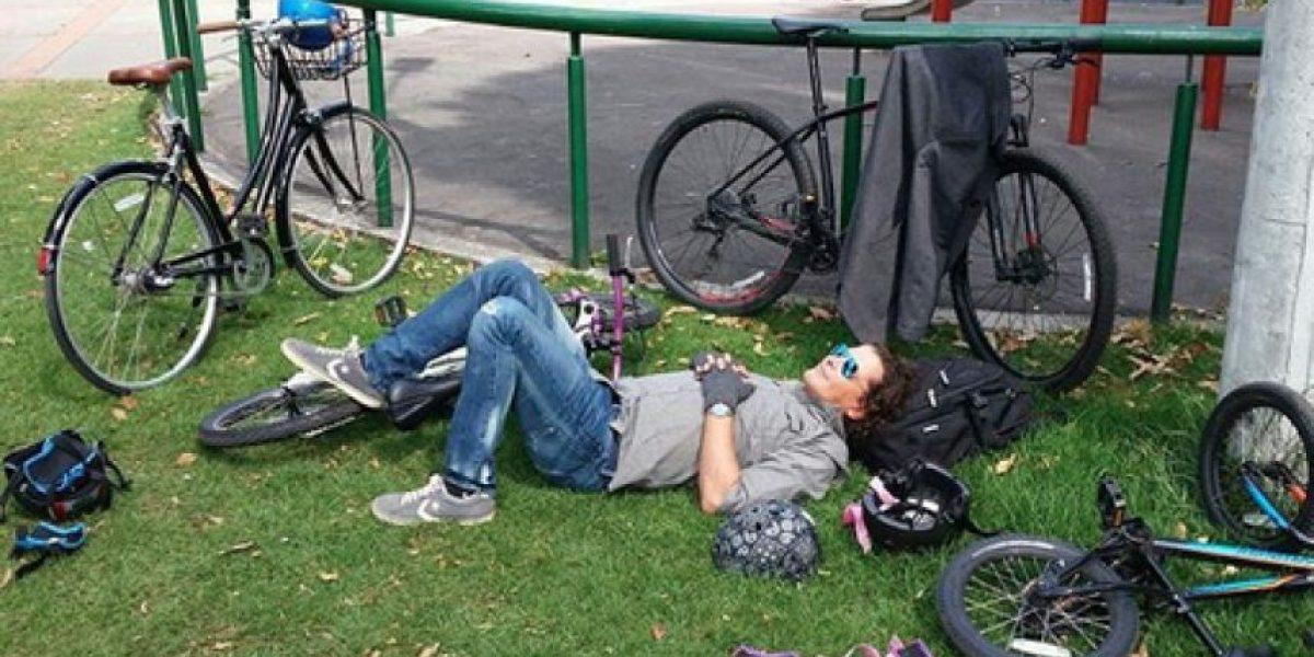 Carlos Vives fue víctima de los ladrones y le robaron su bicicleta