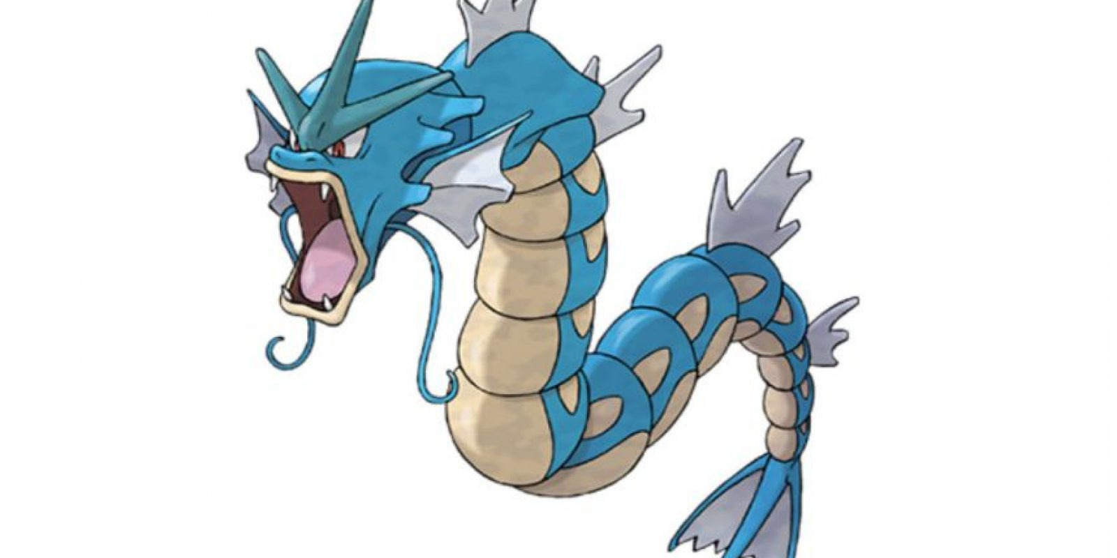 O Gyarados. Foto:Pokémon