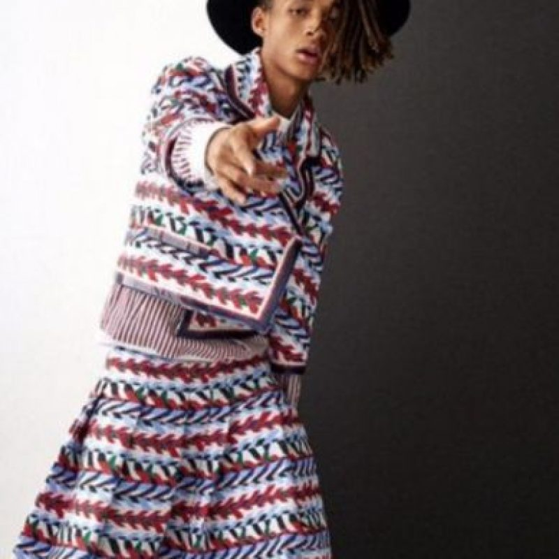 Así ha sorprendido Jaden Smith Foto: Instagram/@christiaingrey