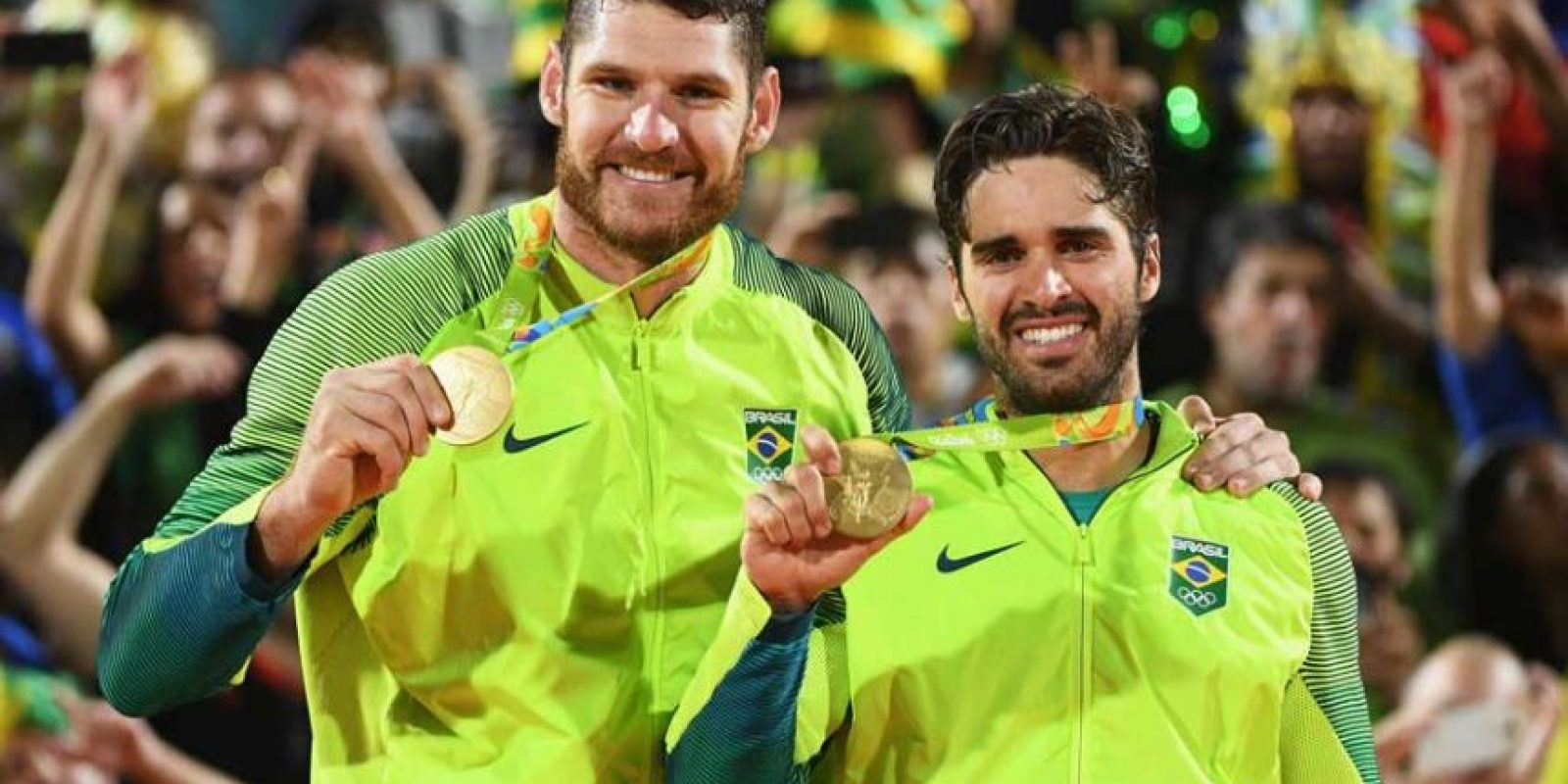 ORO: Brasil (Voléibol de playa) Foto: Getty Images