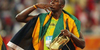 Y llegó a nueve metales dorados en los Juegos Olímpicos Foto:Getty Images