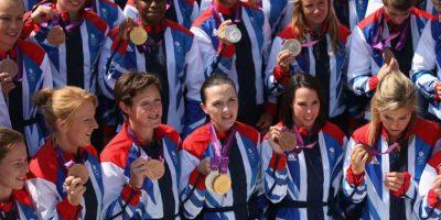Londres 2012: Gran Bretaña alcanzó el tercer lugar general. Foto:Getty Images