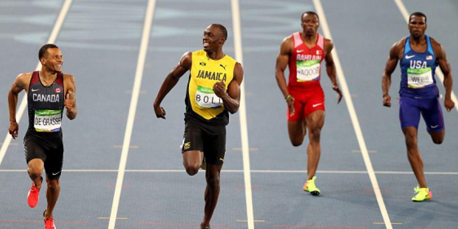 3. Relevo 4×100 metros masculino Foto:Getty Images